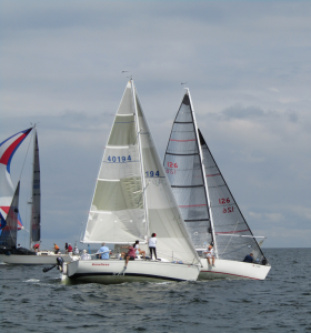 Mark rounding, 2017 MYC Invitational