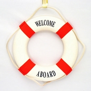 Welcome Aboard Life Ring
