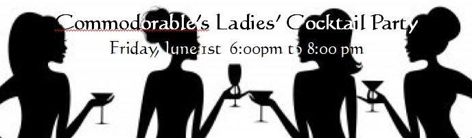 Commodore's Ladies Cocktails 2018